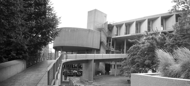 Figure 4: Photo of the Carpenter Center for the Visual Arts building, Harvard University, Boston. Architect Le Corbusier, 1959-62. Source: author, 2009.
